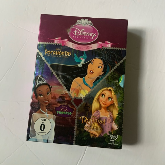 NWOT Disney Princess DVD
